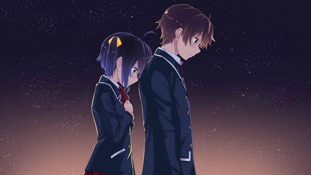 Love Chunibyo & Other Delusions Season 3 Rikka and Yuuta